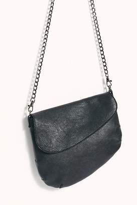 Free People Fp Collection Dahlia Leather Saddle Bag by FP Collection at