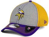 New Era Minnesota Vikings Heathered Neo 39THIRTY Cap