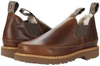 Georgia Boot Fashion Romeos (Brown/Sherpa) Women's Shoes