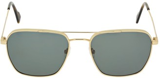 Andy Wolf Damian Squared Metal Sunglasses
