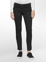 Calvin Klein Waxed Black Wash Moto Jeans
