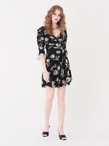 Diane von Furstenberg Coralie Mesh Mini Dress
