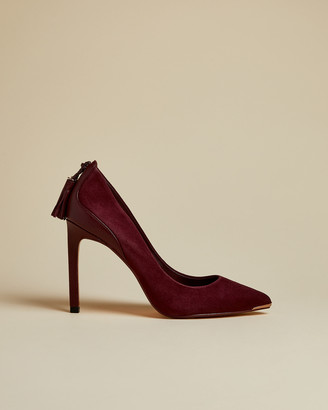 Ted Baker Suede Tassel Courts