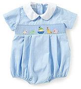 Edgehill Collection Baby Boys 3-9 Months Noah's Ark Shortall