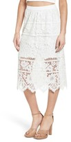 WAYF Women's Newark Lace Skirt