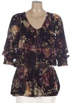 Nygard collection woman printed burnout tunic