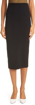 Ronny Kobo Pull-On Pencil Skirt