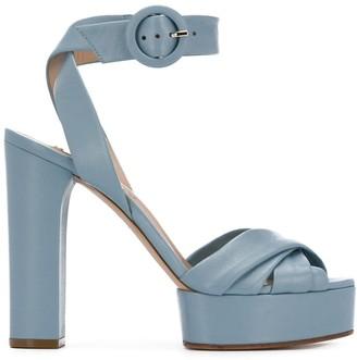 Casadei Chunky-Heel Platform Sandals