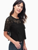 Splendid Lace Swing Top