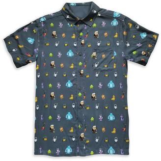 Disney World of Pixar Woven Shirt for Adults