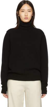 Raf Simons Black Knit Turtleneck