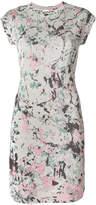 M Missoni printed cap sleeve mini dress