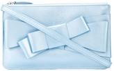 DELPOZO bow-embellished clutch