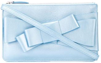 DELPOZO Bow-Embellished Clutch