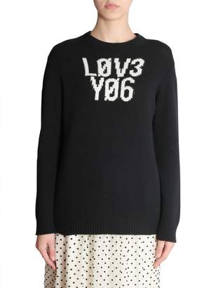 RED Valentino Oversize Fit Sweater