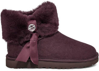 UggUGG Cinched Fur Mini Boot