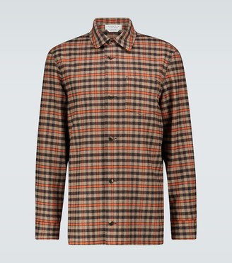 Gabriela Hearst Drew checked overshirt