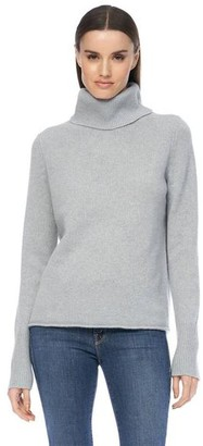 360 Cashmere Poppi Misty Blue Knit - Large