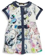 Roberto Cavalli Baby's Floral Printed Dress