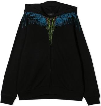 Marcelo Burlon County of Milan Sweatshirt With Zip And Hood
