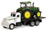Tomy ERTL - John Deere Dealer Truck with 7R Tractor