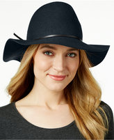 Nine West Pinched-Crown Floppy Felt Hat