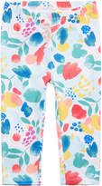 First Impressions Graphic-Print Leggings, Baby Girls, Created for Macy's