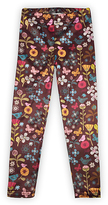 Urban Smalls Brown Floral & Bird Toasties - Infant Toddler & Girls