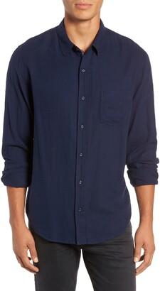 Rails Connor Regular Fit Pique Shirt