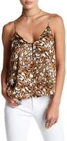 Lush Button Front Cami