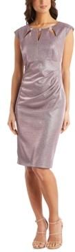 R & M Richards Petite Embellished Sheath Dress
