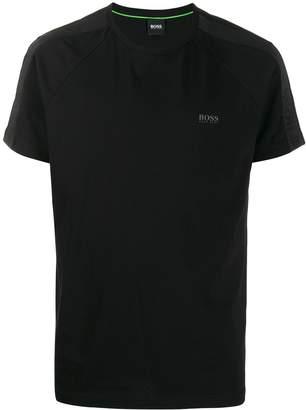 HUGO BOSS logo stripe T-shirt
