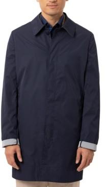 Tallia Men's Slim-Fit Double-Face Raincoat