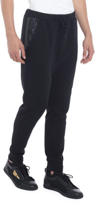 Fendi Men's FF Net Cotton-Blend Sweatpants