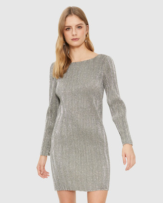 Cooper St Maya Long Sleeve Mini Dress