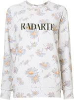 Rodarte floral Radarte sweatshirt - women - Polyester/Spandex/Elastane - S