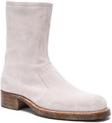 Maison Margiela Vintage Treatment Suede Boots