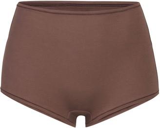 SKIMS Cotton Jersey Boy Short