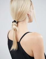 Asos Curb Chain Velvet Hair Tie