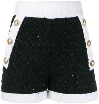 Balmain Button Detailed Shorts
