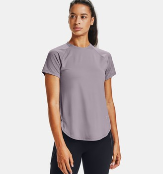 Under Armour Women's UA Armour Sport Hi-Lo Short Sleeve