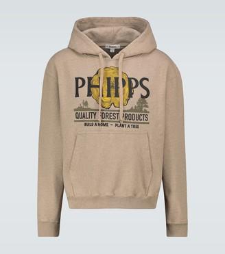 Phipps Lumber logo hooded sweatshirt