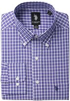 U.S. Polo Assn. Men's Purple Plaid