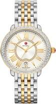Michele Serein Diamond Watch Head & Bracelet, 36mm x 34mm