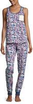 Asstd National Brand Capri Pajama Set