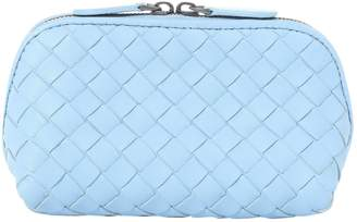 Bottega Veneta Blue Leather Clutch bags