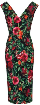Dolce & Gabbana Exclusive to Mytheresa Pomegranate-print midi dress