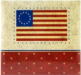 MCS MBI American Flag 12 Inch by 12 Inch Page , 13.2 x 12.5 Inch Postbound Album