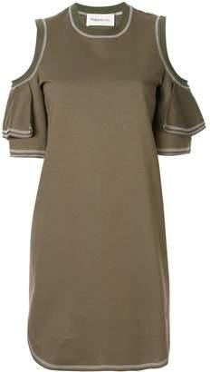 PortsPURE cut-out shoulder dress