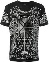 Marcelo Burlon County of Milan geometric print T-shirt - men - Cotton - S